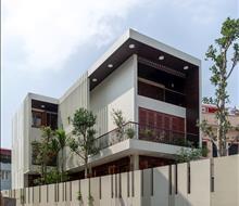 Biệt thự nhà vườn 250m2 phong cách tối giản