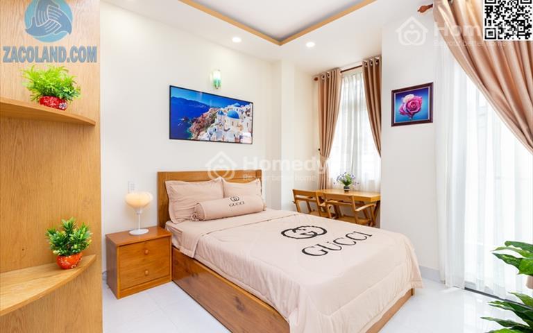 Căn hộ full nội thất ban công thoáng mát ngay chợ Nguyễn Văn Trỗi