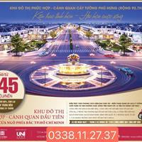 Chỉ 745 triệu/nền nhận ngay đất sổ đỏ trung tâm khu đô thị hot nhất Bình Phước, hỗ trợ trả góp 0%
