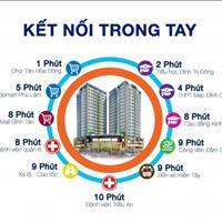 Cần bán căn 2 phòng ngủ, vào ở ngay, giá 1,9 tỷ, bao gồm VAT và phí 2%, ở trung tâm quận 6