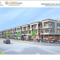 Cần tiền bán gấp 120m2 nhà phố thương mại Centa City Từ Sơn, giá chỉ 16.3 triệu/m2