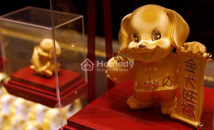 Giá vàng ngày 25/2/2018: Đón Vía Thần tài, vàng tăng cao