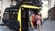 Cáp treo dài nhất thế giới tại Phú Quốc chính thức khai trương