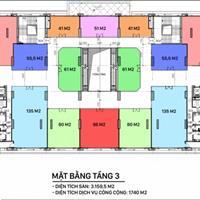 Mở bán 3 tầng trung tâm thương mại chung cư IA20 Ciputra