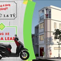 Cơ hội duy nhất mua nhà tặng xe Honda Lead, nhà 4 tầng cực đẹp