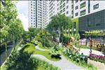 Dự án được xây dựng với loại hình chung cư và nhà liền kề, biệt thự.