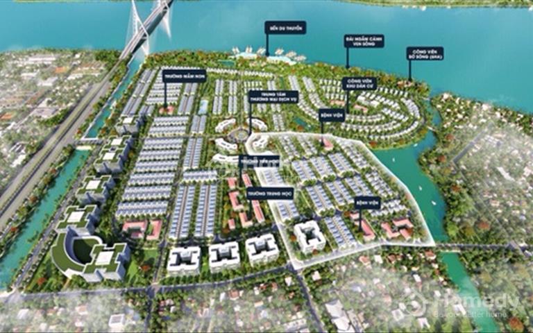 Cơ hội sở hữu biệt thự ven sông cực đẳng cấp ngay cảng Phú Hữu Quận 9