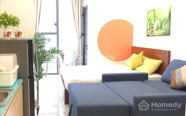 Cho thuê căn hộ Officetel River Gate, Bến Vân Đồn, Quận 4, 27m2, giá 13 triệu/tháng