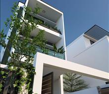 Nhà phố 3 tầng 100m2