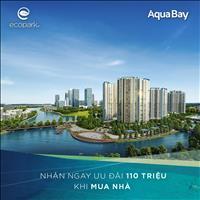Bán căn hộ 46m2 chung cư Aqua Bay - Sky khu đô thị Ecopark giá 861 triệu ngang giá chủ đầu tư