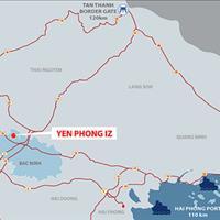 Những lô đất nền cuối cùng của dự án Yên Trung - Thụy Hòa nằm ngay cạnh khu công nghiệp Yên Phong