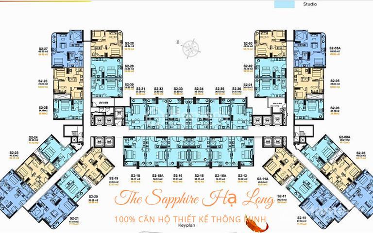 Suất ngoại giao siêu hot The Sapphire Hạ Long, căn hộ 5 sao mặt biển sở hữu vĩnh viễn