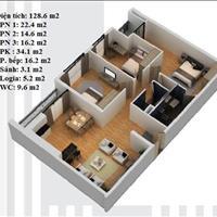 Bán căn chung cư N03-T5 khu Ngoại Giao Đoàn, giá 25,5 triệu/m2