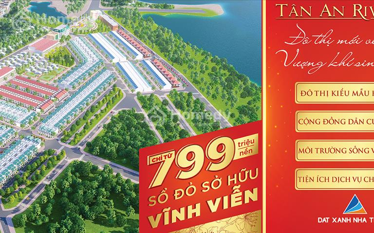 Khu đô thị mới Tân An Reverside - mặt tiền đường Trần Phú, An Nhơn, Bình Định - Chỉ từ 799 triệu