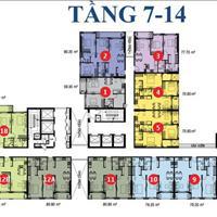 Bán căn hộ Kingston, 2 phòng ngủ, 79m2, full nội thất, giá 5.1 tỷ