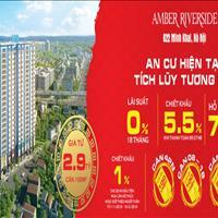 Amber Riverside cạnh Times City giá chỉ từ 25 triệu/m2, thiết kế chuẩn đẹp