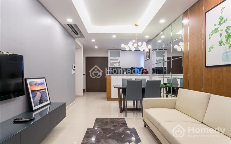 Cho thuê căn hộ River Gate Bến Vân Đồn Quận 4, 2 phòng ngủ, full nội thất giá 23 triệu/tháng