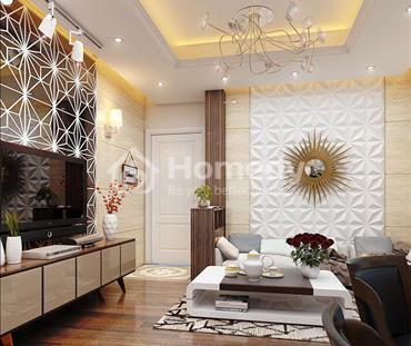 Thiết kế nội thất chung cư Tây Hà Tower 95m2