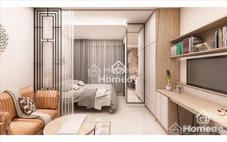 Cho thuê Officetel Saigon Royal, Quận 4, giá 16 triệu/tháng, đầy đủ nội thất