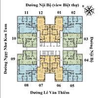 Bán căn 05 (117m2) và căn 03 (109m2) chung cư The Legacy 106 Ngụy như Kon Tum