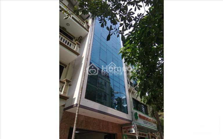 Cho thuê nhà mới khu đấu giá Nam Trung Yên, 98m2 x 6 tầng, mặt tiền 5.5m, giá 85 triệu/tháng