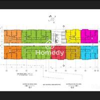 Penthouse cao cấp full kính 3 phòng ngủ, diện tích 155,67m2, 2 mặt tiền Điện Biên Phủ và D1