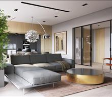 Căn hộ chung cư phong cách hiện đại