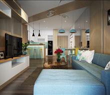 Thiết kế căn hộ Opal Riverside phong cách hiện đại