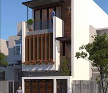Thiết kế nhà phố sang trọng, hiện đại