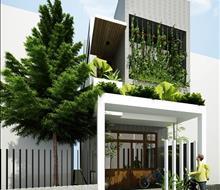 Nhà phố phong cách hiện đại