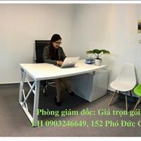 Cho thuê văn phòng trọn gói 4,5 tr/tháng phòng 2 - 3 người, toà nhà 12 tầng, đường Cửa Bắc, Ba Đình