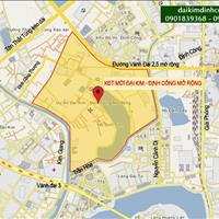Liền kề 2 mặt đường 13.5m – 11.5m khu đô thị Đại Kim - Định Công Mở rộng giá từ 53 triệu/m2