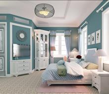 Phòng ngủ em bé phong cách Neoclassic
