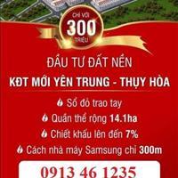 Đất nền giá rẻ tại khu công nghiệp Samsung Yên Phong Bắc Ninh, chỉ 10,5 triệu/m2