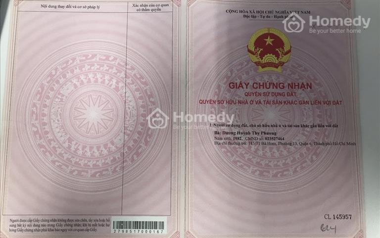 Thanh lý 10 bất động sản Sài Gòn giá tốt, chỉ 39 triệu/m2 - Quận 6