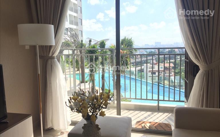 Chính chủ cần cho thuê gấp căn hộ sân vườn với nội thất cao cấp của dự án The Sun Avenue
