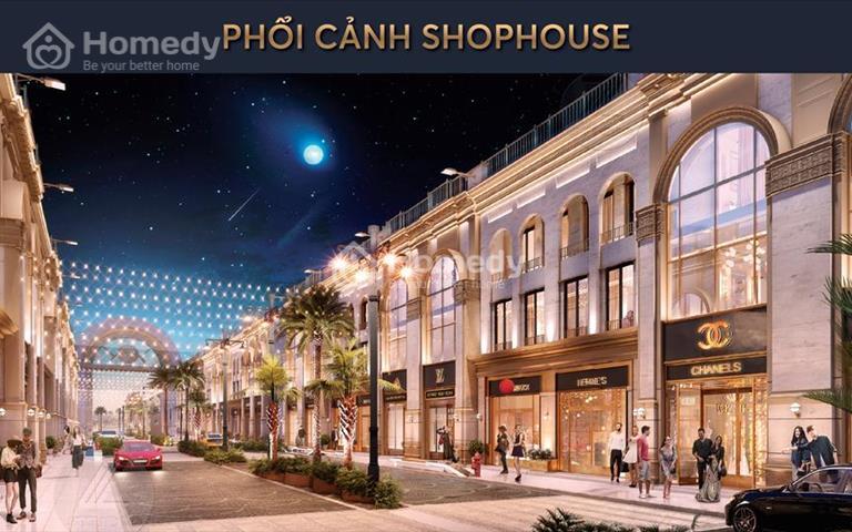 Shophouse 4 tầng ốp đá nhập ngoại ven biển Nam Đà Nẵng