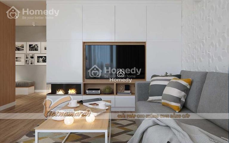 Cho thuê căn hộ chung cư Khang Gia Tân Hương, 67m2, 2 phòng ngủ, giá 6 triệu/tháng