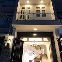Bán căn nhà 1 trệt 1 lầu mặt tiền Quốc Lộ 50, Bình Chánh, sổ hồng riêng, ngân hàng hỗ trợ 70%
