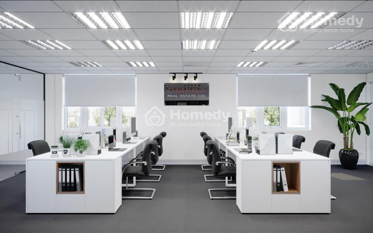 Tòa nhà văn phòng 12 tầng phố cổ hạ giá dưới 9 USD/m2 đã gồm phí dịch vụ để lắp kín nốt 100m2 130m2