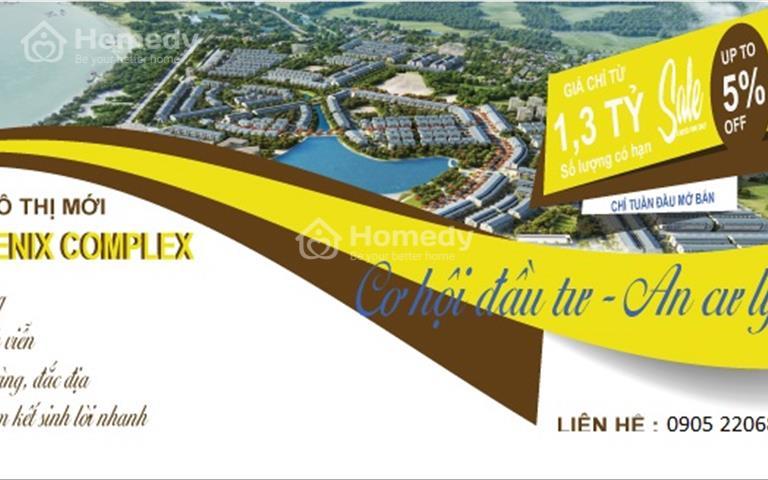 Mở bán dự án đất nền Sun Phoenix Complex giai đoạn 1 - giá tốt nhất thị trường