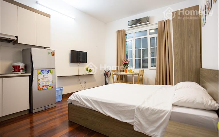Cho thuê căn hộ đủ đồ giá rẻ tại Hoàng Ngân giá chỉ từ 8 triệu đồng/tháng