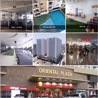 Cho thuê căn hộ Oriental Plaza - mặt tiền Âu Cơ, Tân Phú, 85m2, 2 phòng ngủ, 2 WC nội thất đầy đủ