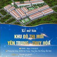 Khu đô thị mới Yên Trung Thụy Hòa, Samsung Yên Phong, Bắc Ninh, chỉ 10,5 triệu/m2