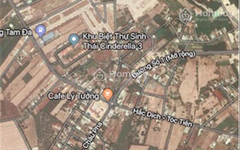 Đất mặt tiền đường số 1, ngay ngã tư Hắc Dịch - Châu Pha