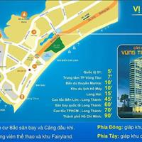 Bán lại căn hộ 2 phòng ngủ  D.I.C Gateway Vũng Tàu, lầu 23, view biển, nhà trống, Tài