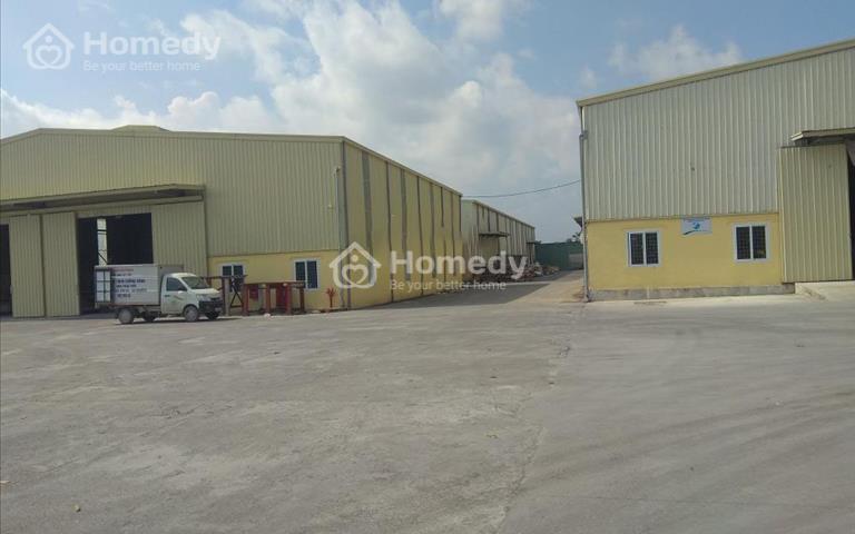 Cho thuê 3ha (30.000m2) kho xưởng lô 2 khu công nghiệp Châu Sơn, Phủ Lý, Hà Nam