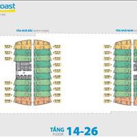 Cần tài chính bán căn góc 1 phòng ngủ view biển tầng cao dự án Gold Coast Nha Trang