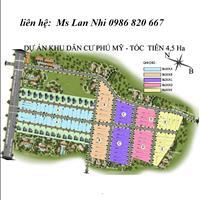 Đất nền dự án khu dân cư Phú Mỹ, Vũng Tàu, đã có sổ, mặt tiền đường vành đai 4