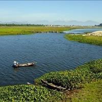 Đất biệt thự mặt tiền sông Cổ Cò, Đà Nẵng, Hội An, chỉ 16,8 triệu/m2, duy nhất 3 lô cuối